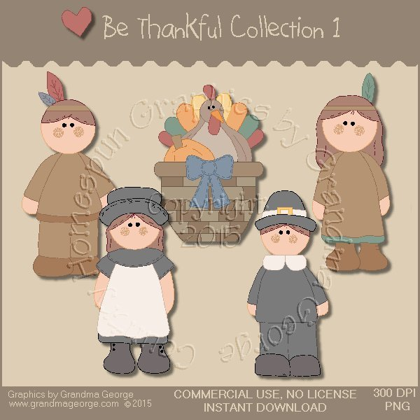 Be Thankful Collection Vol. 1