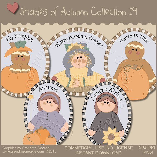 Shades of Autumn Graphics Collection Vol. 19