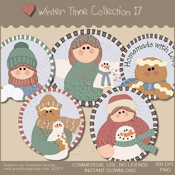 Winter Time Collection Vol. 17