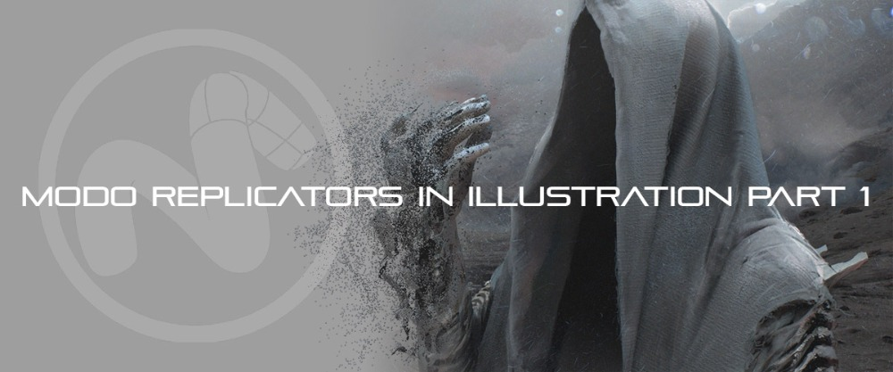 Modo Replicators in Illustration Part 1