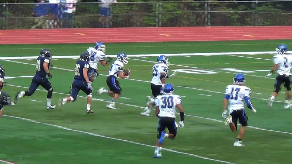 Demarest vs. Indian Hills football video highlights
