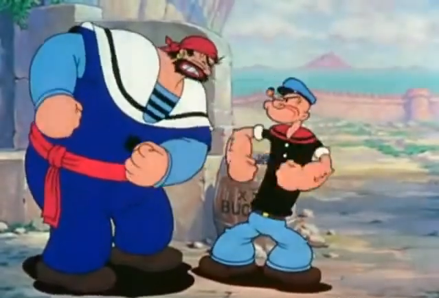 Popeye Meets Sindbad The Sailor (1936) - Cartoon