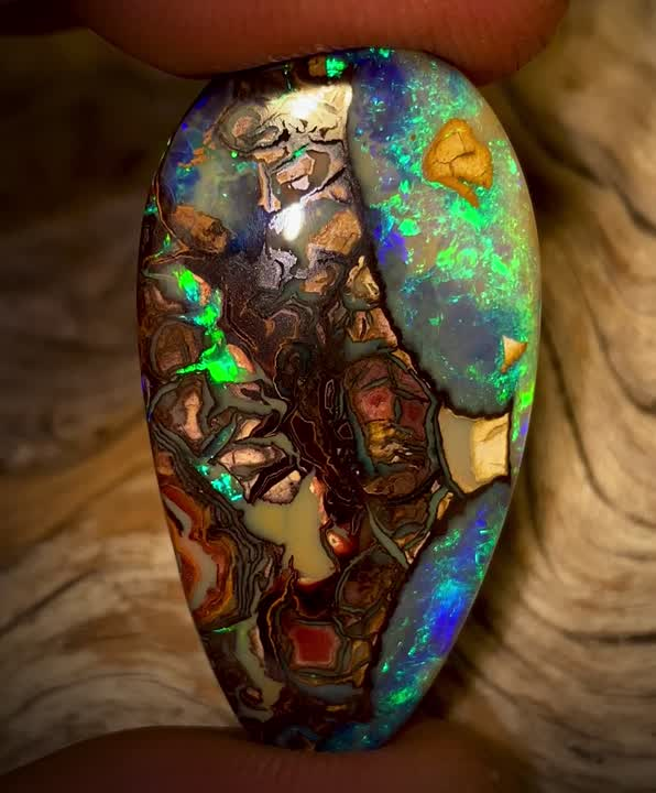 50.55cts - Found while filming outback Opal Hunters