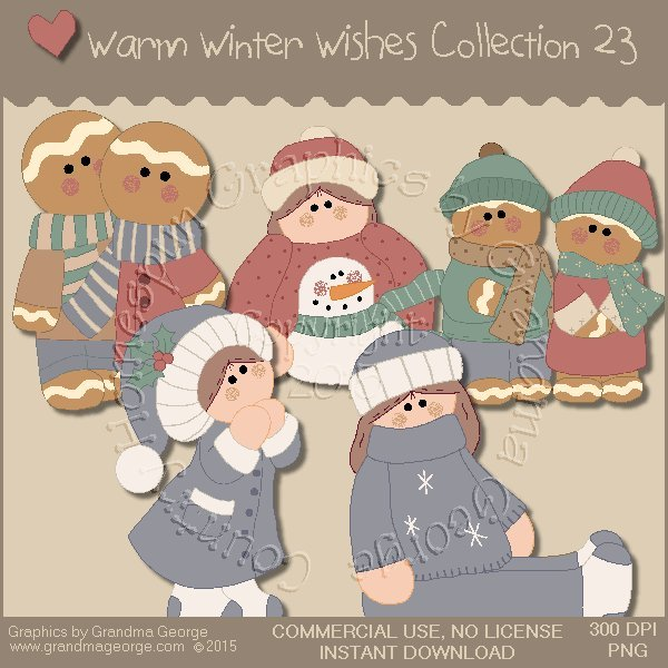 Warm Winter Wishes Collection Vol. 23