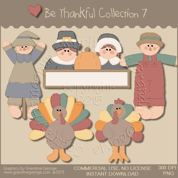 Be Thankful Collection Vol. 7