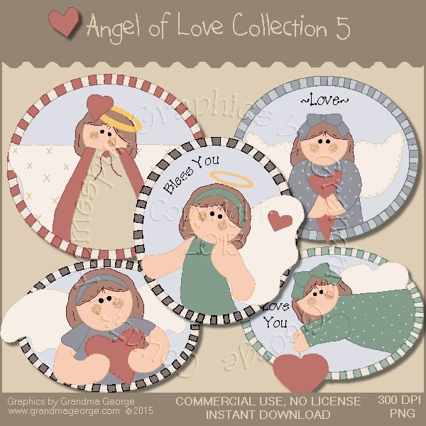 Angel of Love Graphics Collection Vol. 5