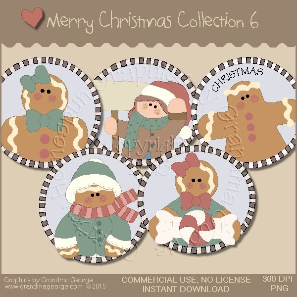 Merry Christmas Graphics Collection Vol. 6