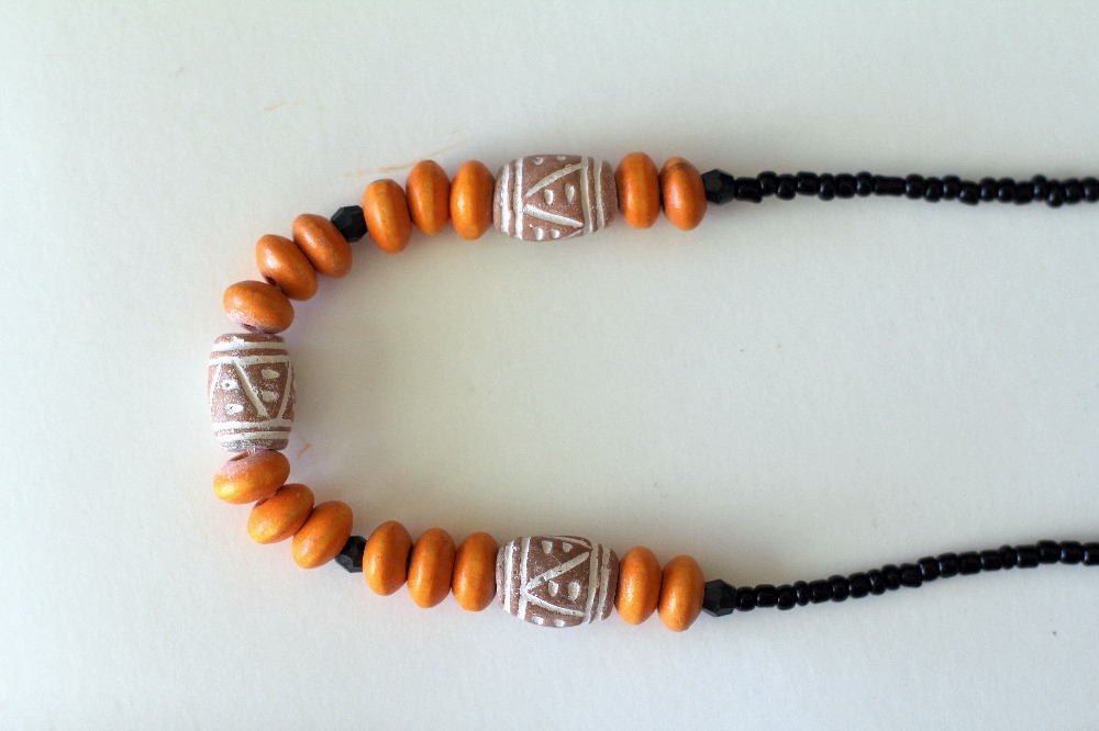 Orangy Limpopo Necklace Choker