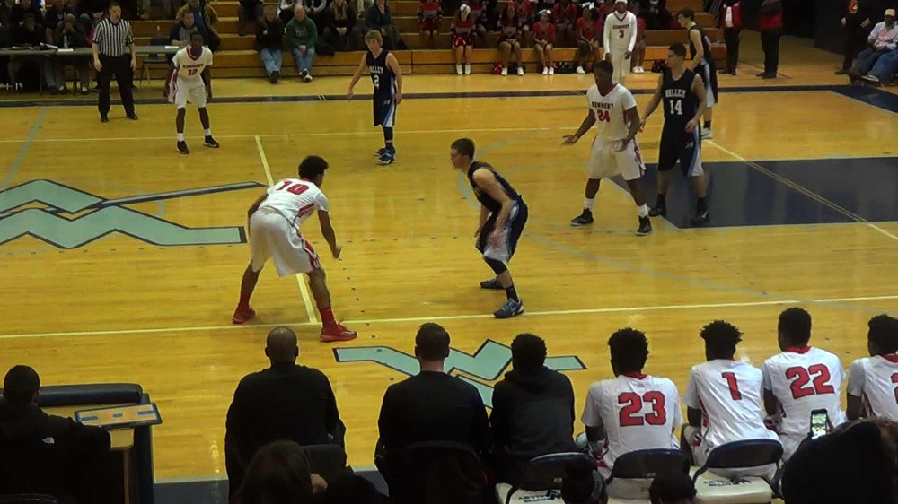 Kennedy vs. Wayne Valley boys' basketball video highlights