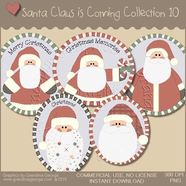 Santa Claus is Coming Country Graphics Vol. 10