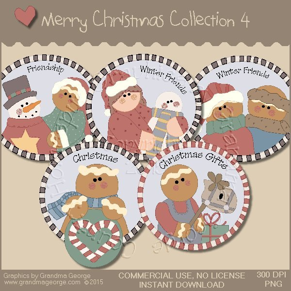 Merry Christmas Graphics Collection Vol. 4
