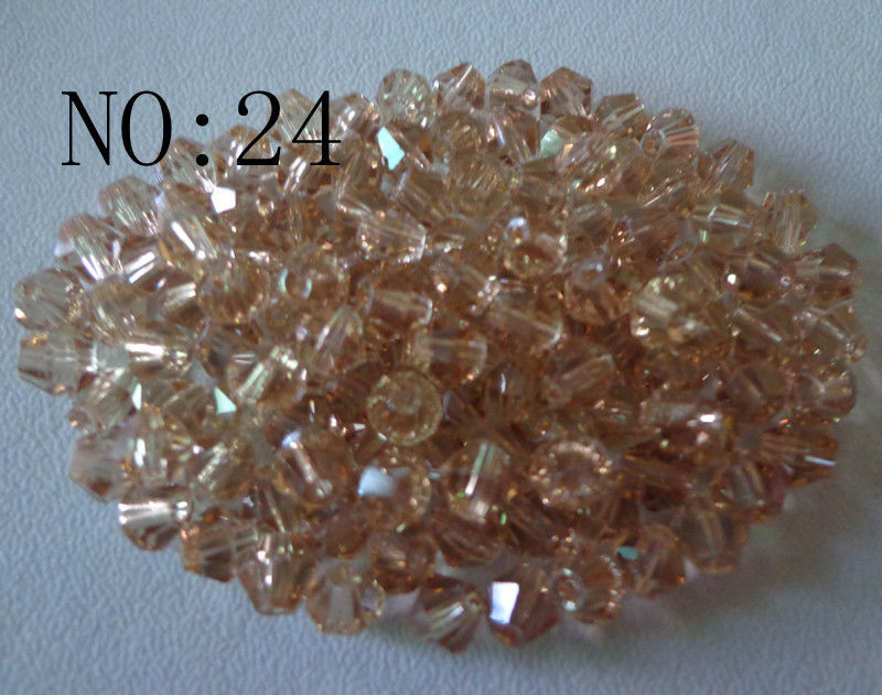 Swarovski Crystal Beads CHAMPAGNE 6 mm