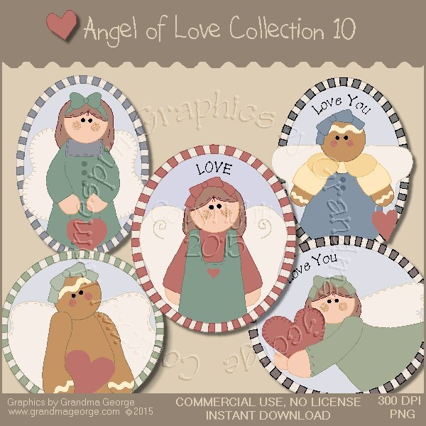 Angel of Love Graphics Collection Vol. 10
