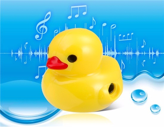 Rubber Ducky MP3 Player