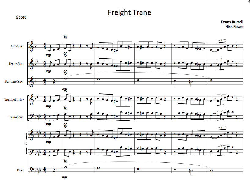 Freight Train Octet