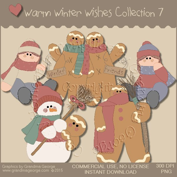 Warm Winter Wishes Collection Vol. 7