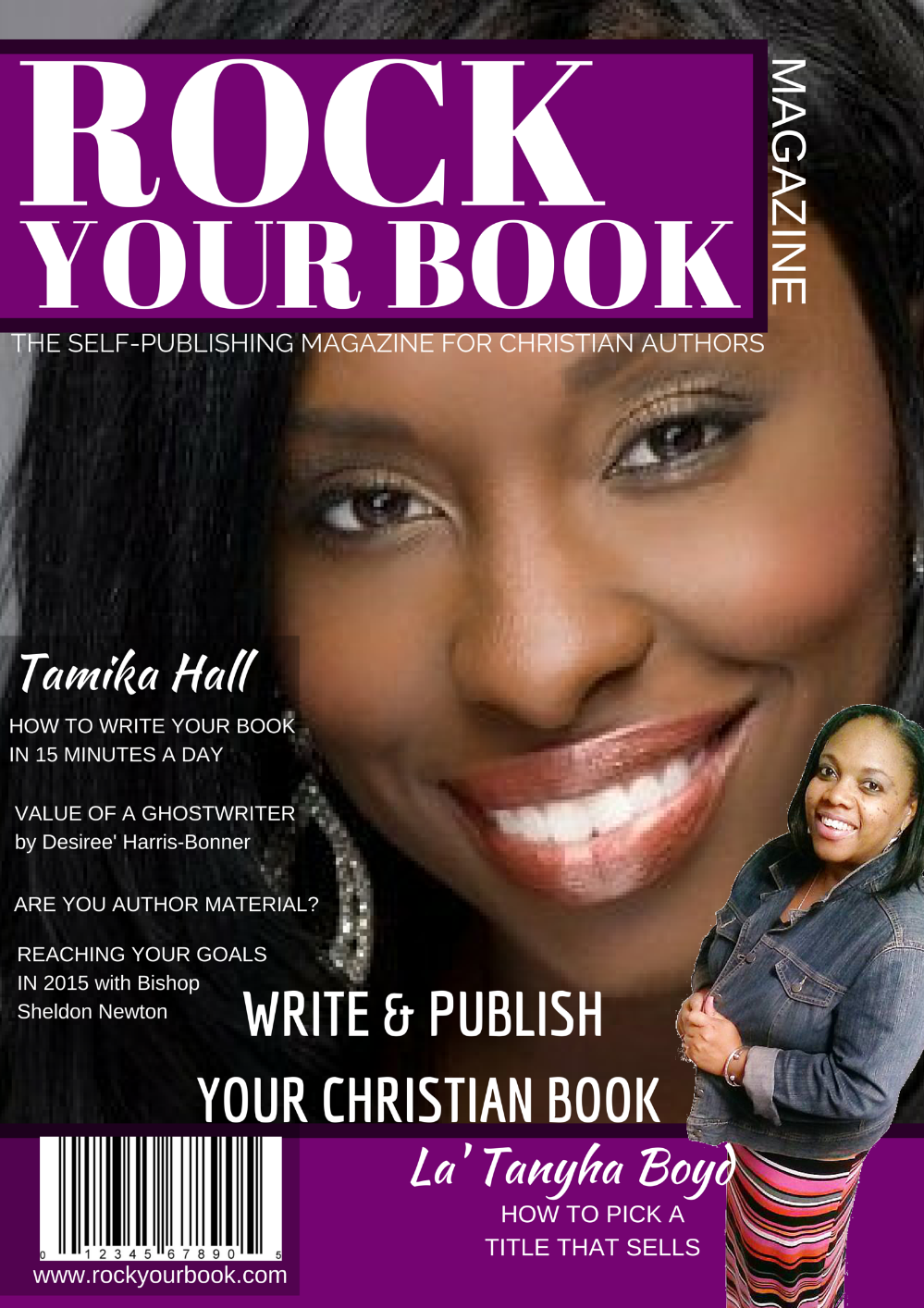 Rock Your Book Magazine Issue 1-Write & Publish Your Christian Book