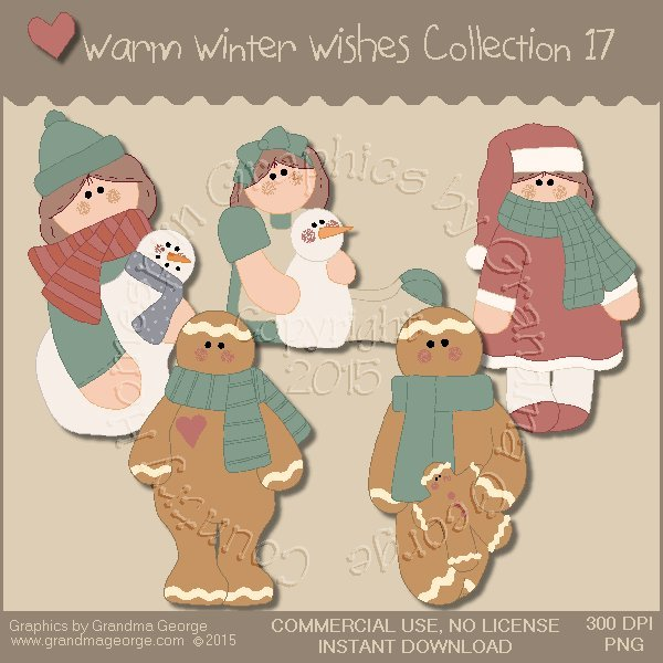 Warm Winter Wishes Collection Vol. 17