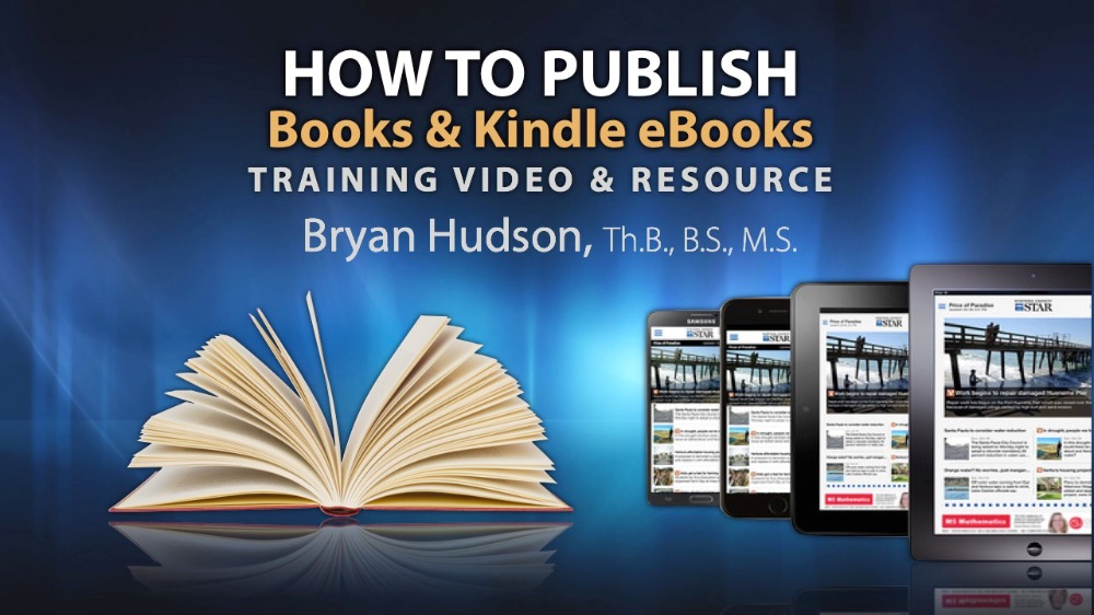 HOW TO PUBLISH BOOKS & EBOOKS RESOURCE