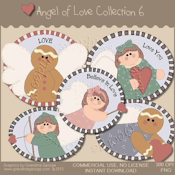 Angel of Love Graphics Collection Vol. 6