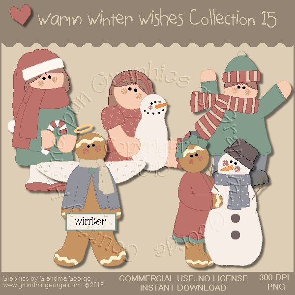 Warm Winter Wishes Collection Vol. 15