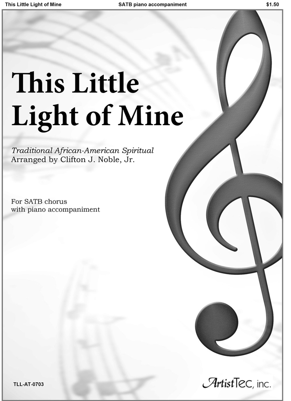 This Little Light of Mine (SATB)