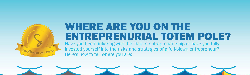 Where are you on the entrepreneurial totem pole? (FREE Infographic )