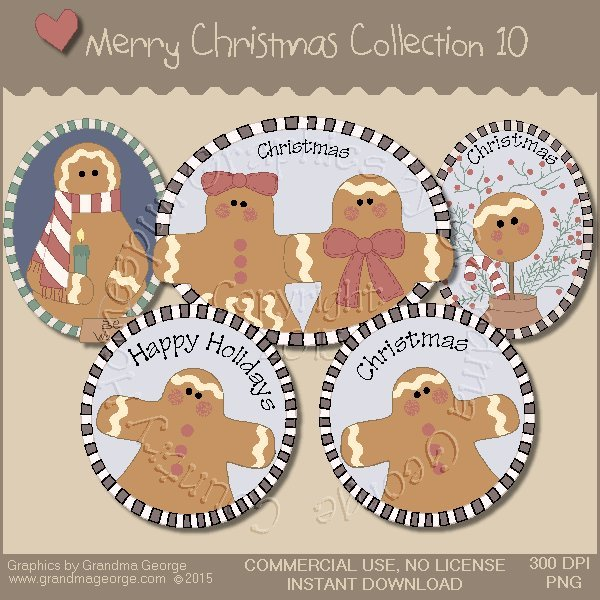 Merry Christmas Graphics Collection Vol. 10