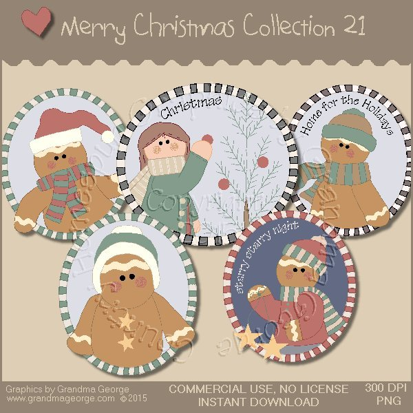 Merry Christmas Graphics Collection Vol. 21