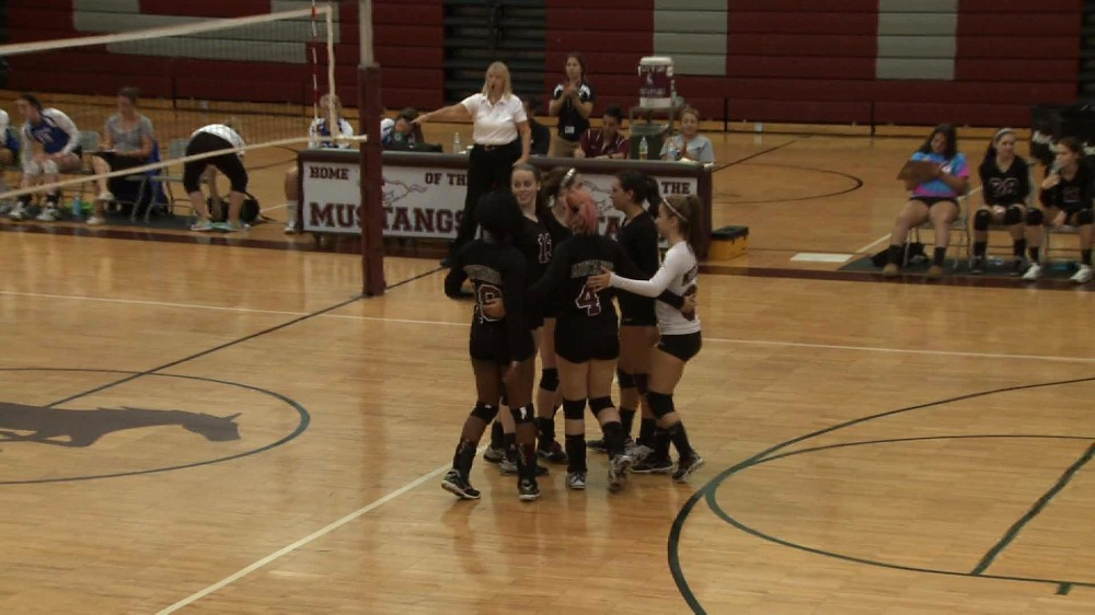 Clifton vs. Holy Angels girls' volleyball video highlights