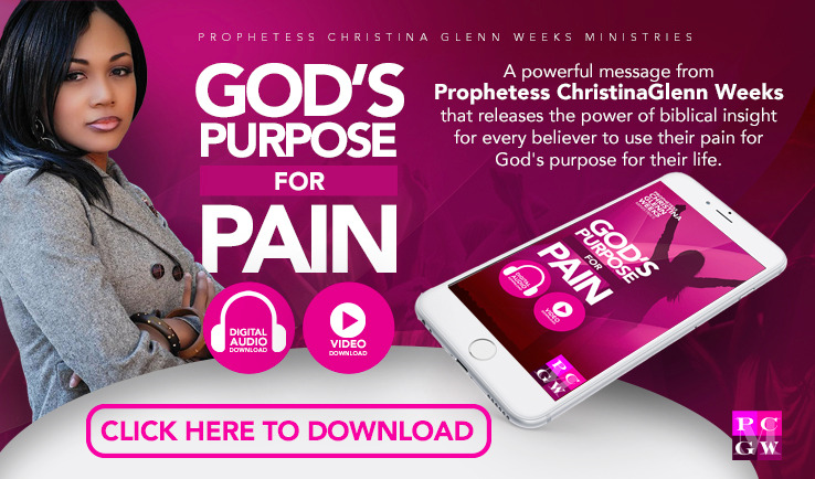 God's Purpose For Pain - Audio
