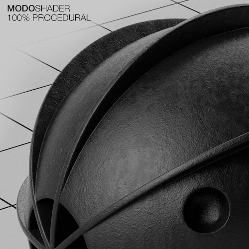 Modo Shader - Dirty Black Plastic