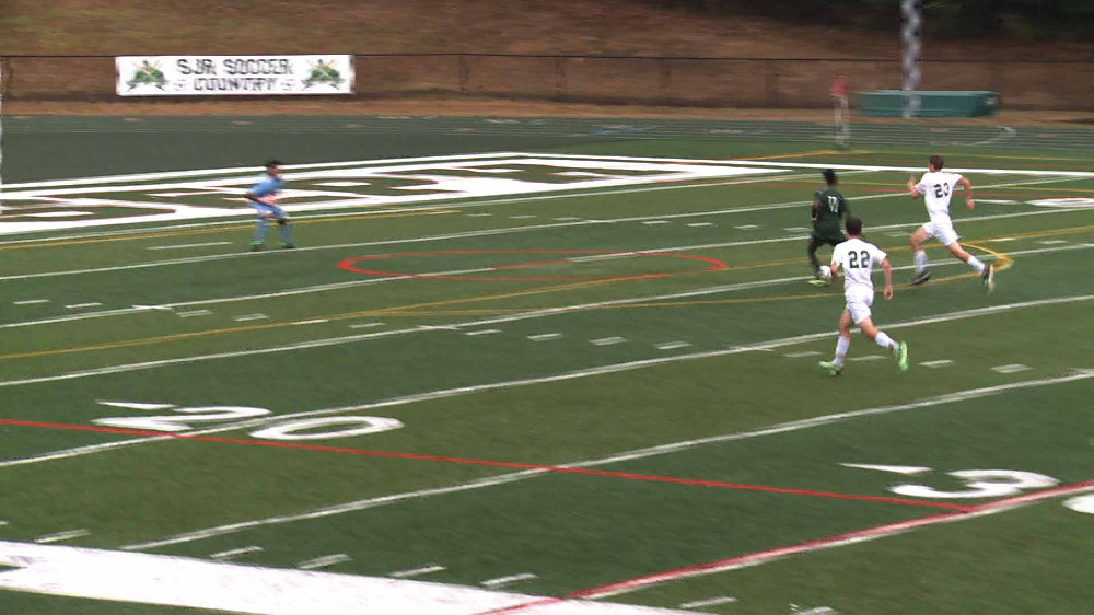 DePaul vs. St. Joseph boys' soccer video highlights
