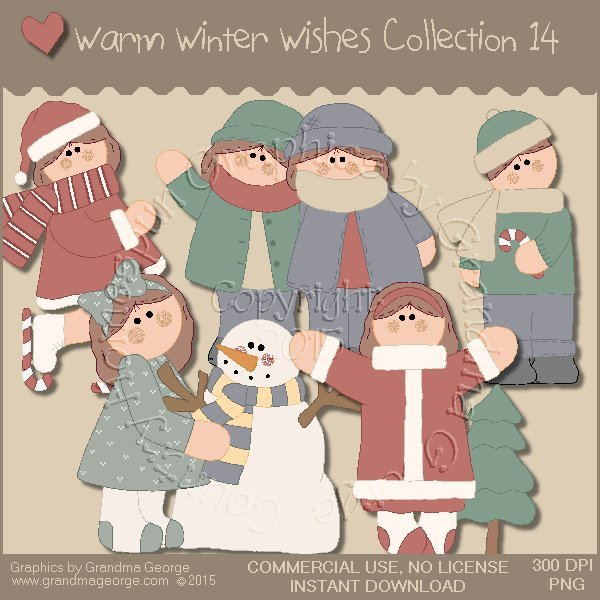 Warm Winter Wishes Collection Vol. 14