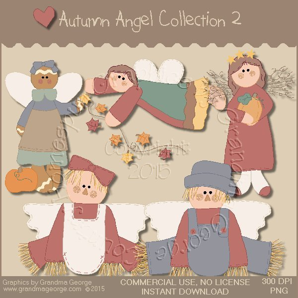 Autumn Angel Graphics Collection Vol. 2