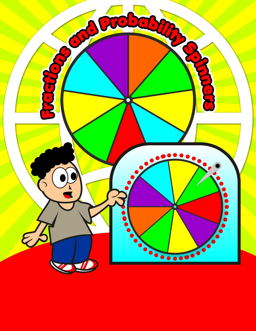 Fractions and Probability Spinners