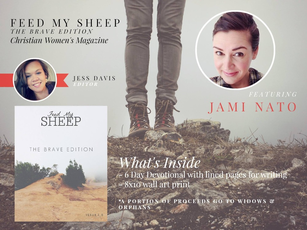 Feed My SHEEP ~ Featuring Jami Nato