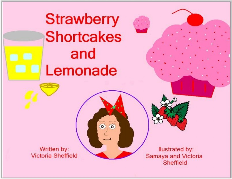 Strawberry Shortcakes & Lemonade