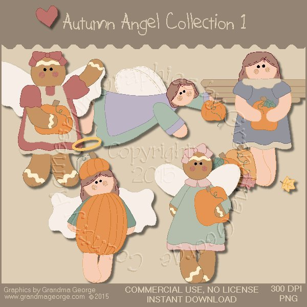 Autumn Angel Graphics Collection Vol. 1