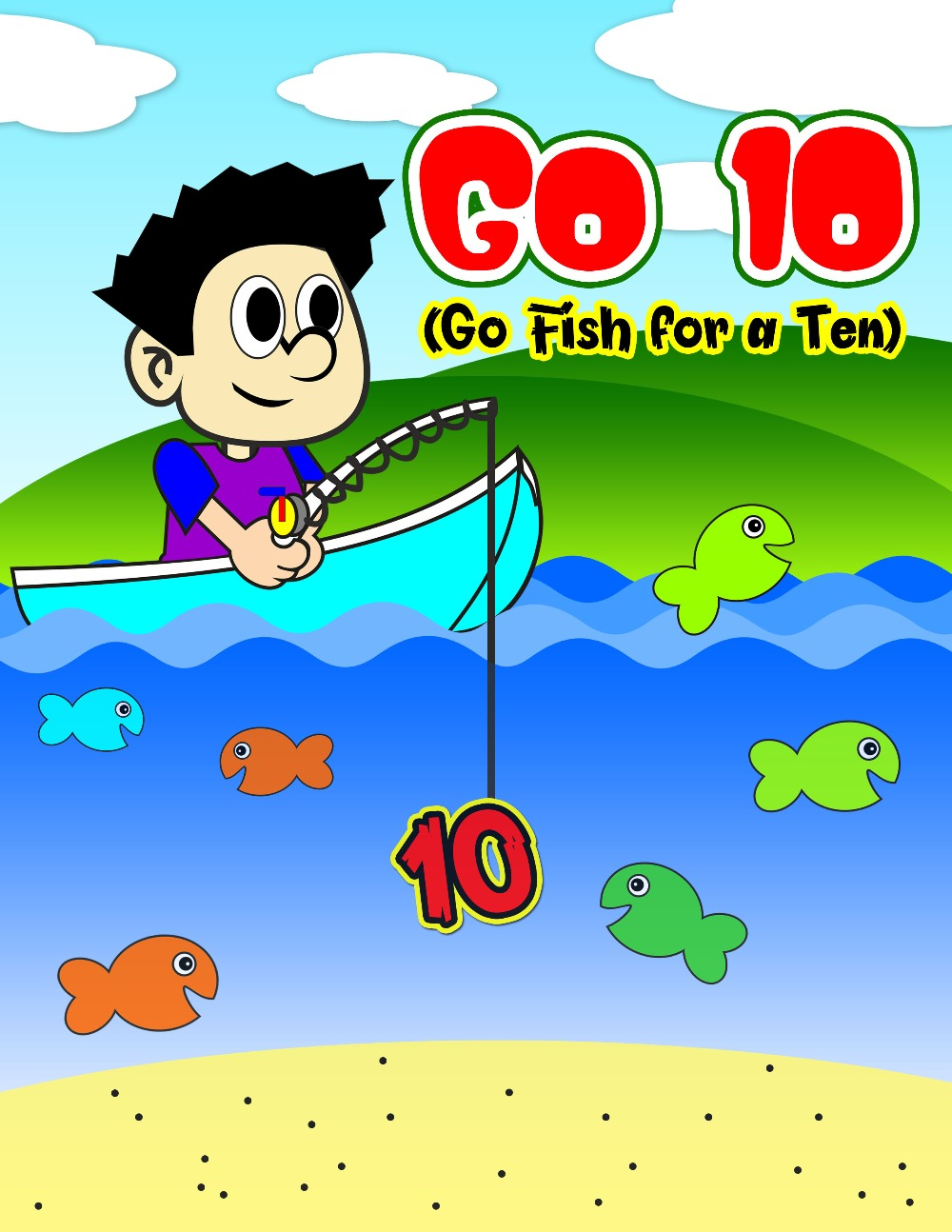 Go 10 (Go Fish for a Ten)