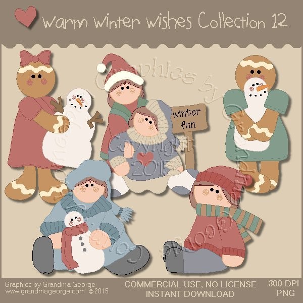 Warm Winter Wishes Collection Vol. 12