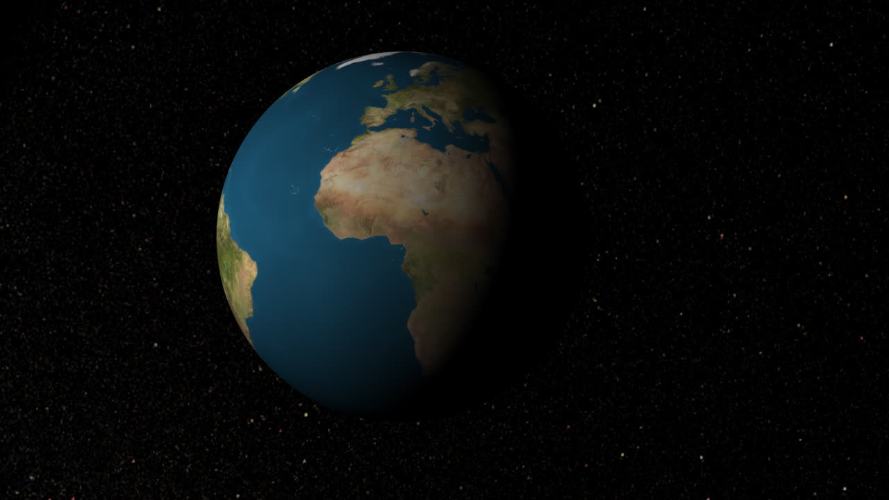 Earth View Caribbean (Animation)