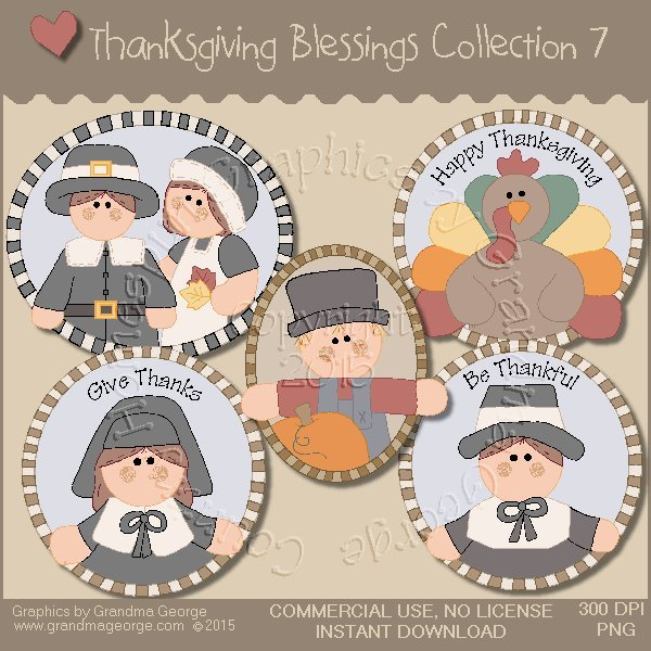 Thanksgiving Blessings Collection Vol. 7