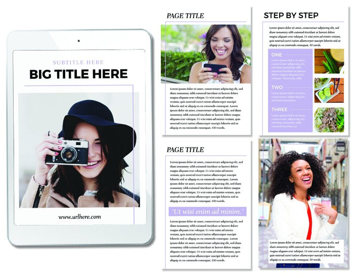 NEW eBook Template - Alessandra