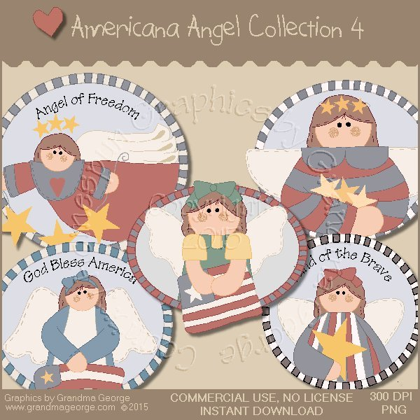 Americana Angel Graphics Collection Vol. 4
