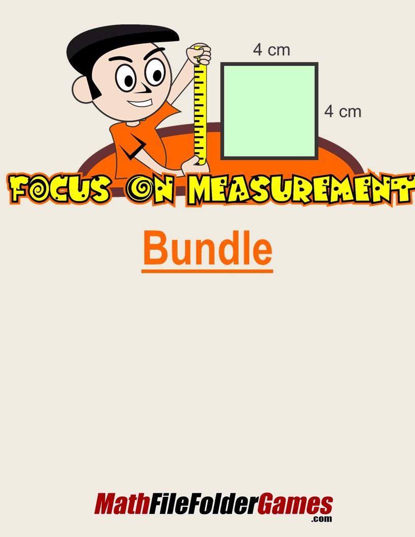 Focus On Measurement {Game BUNDLE}