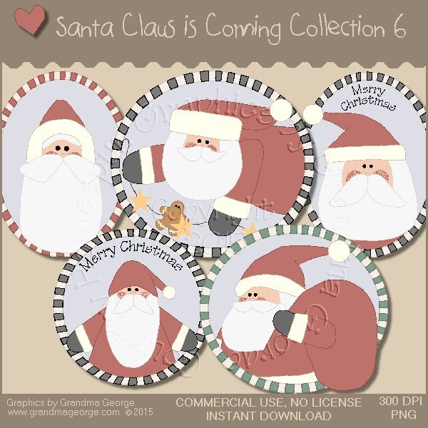 Santa Claus is Coming Country Graphics Vol. 6
