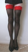 Red Top Thigh High LC7982