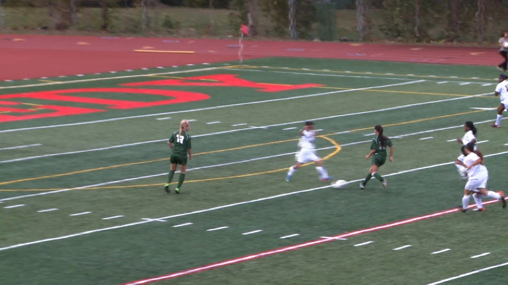 DePaul vs. Eastside girls' soccer video highlights