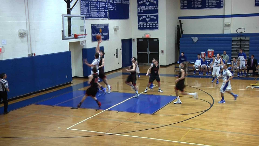 Demarest vs. Northern Highlands boys' basketball video highlights